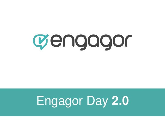Engagor Day II - Introduction & Roadmap