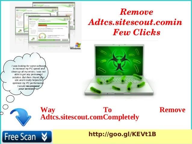 Adtcs.sitescout.com: Delete Adtcs.sitescout.com