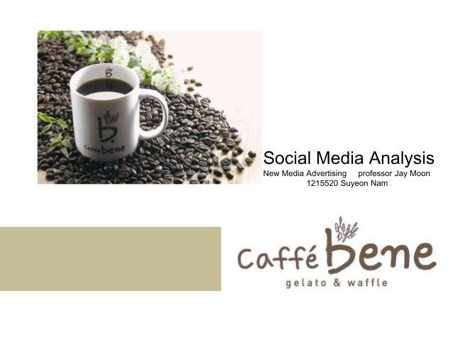 Caffe bene (social media analysis)