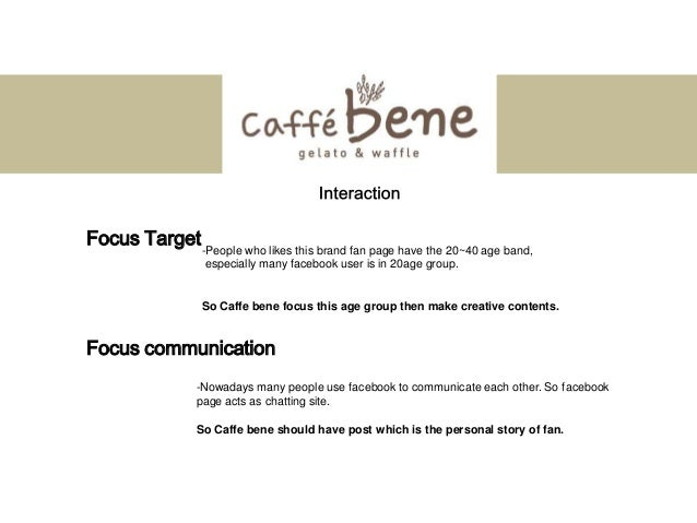 caffebene case analysis Caffe bene is on its way to becoming a top coffee brand  in each of these short  videos, i provide an audit and analysis of a new or interesting restaurant   having a great coffee shop concept is hardly a ticket to success – if that were the  case,.