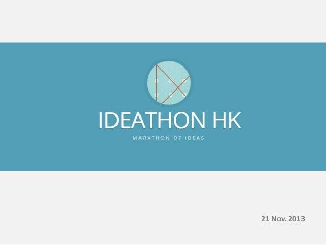 Ideathon HK