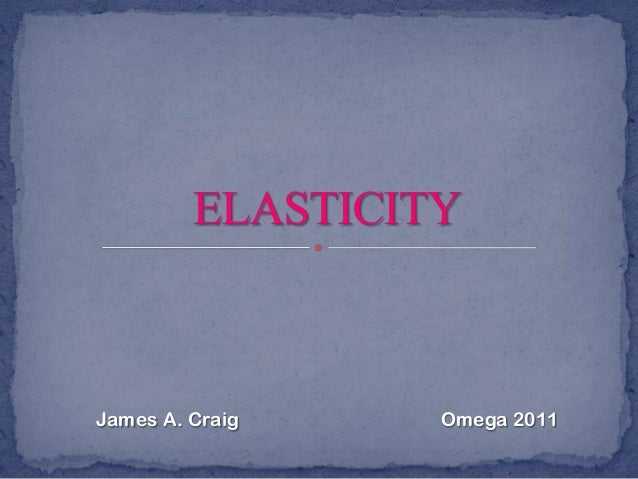 James A. Craig  Omega 2011