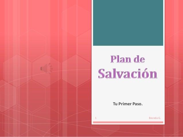 1.  plan de salvación