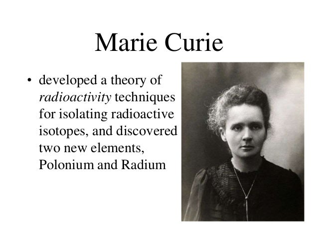 marie curie radioactivity and x rays essay Marie sklodowska curie photo: acjc pierre curie photo: acjc the new eiffel tower epitomized paris' status as the world's most sophisticated city in the 1890s while her colleagues rushed to study newly discovered x-rays, marie turned her attention to a different kind of ray.