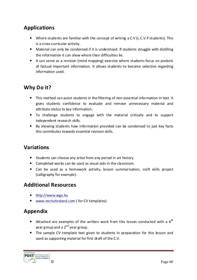Resume and cv writing services dublin