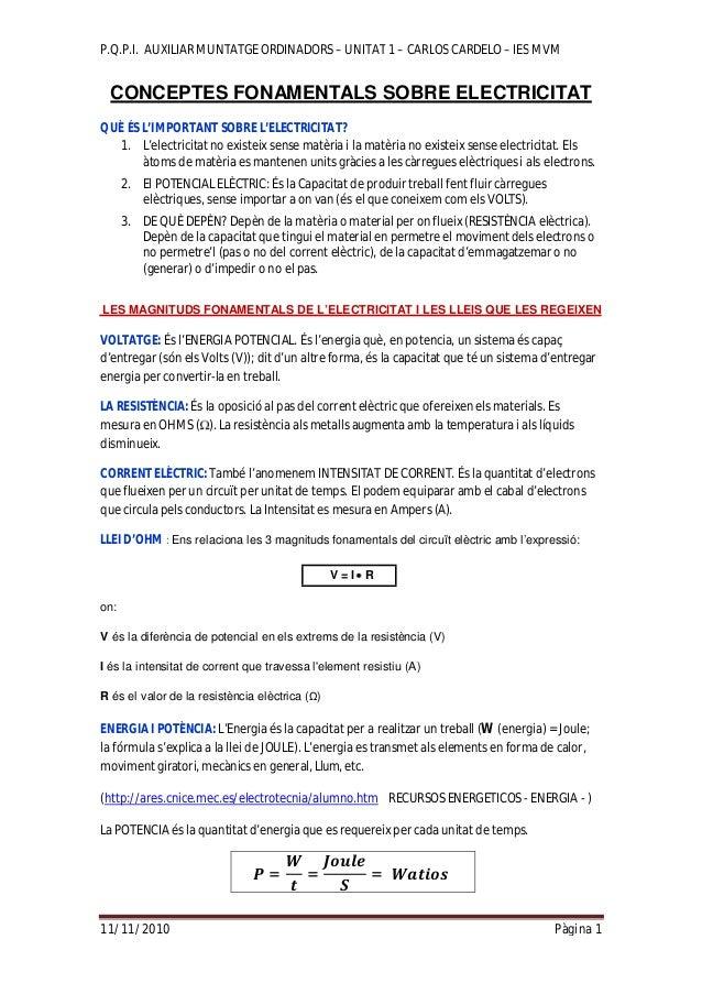 1.conceptes basics d'ectricitat