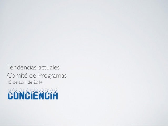 Comité de Programas 15-04