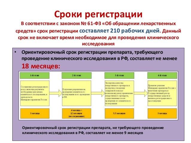 Сроки регистрации В