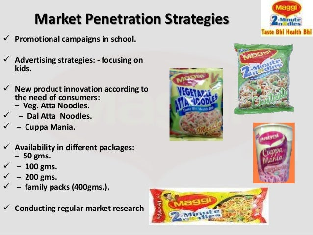 Market examples penetration of