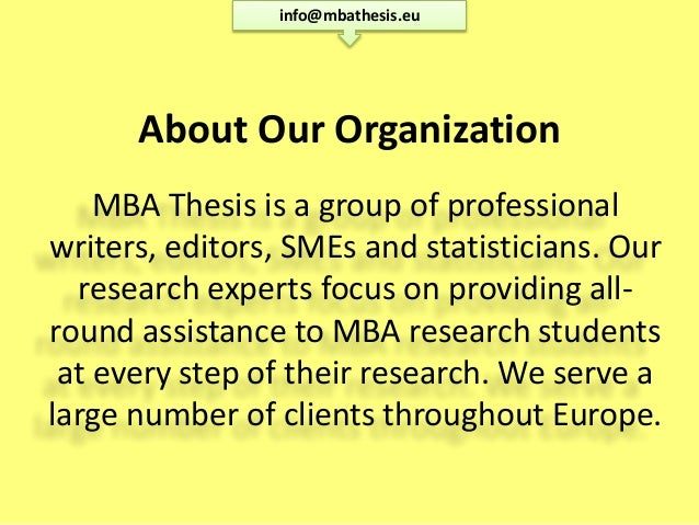 mba thesis on hrm