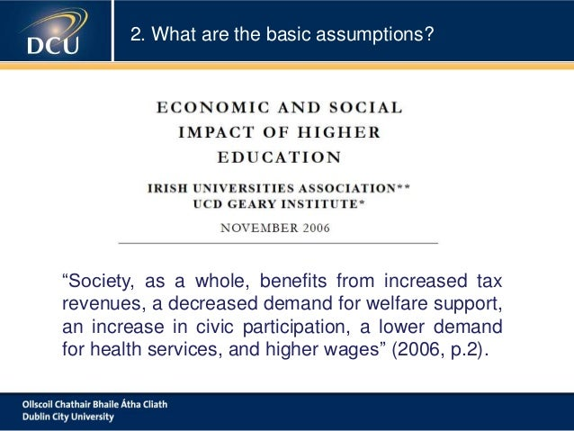 Benefits of higher education essay