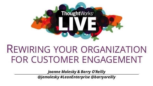 Rewiring Your Organization for Customer Engagement