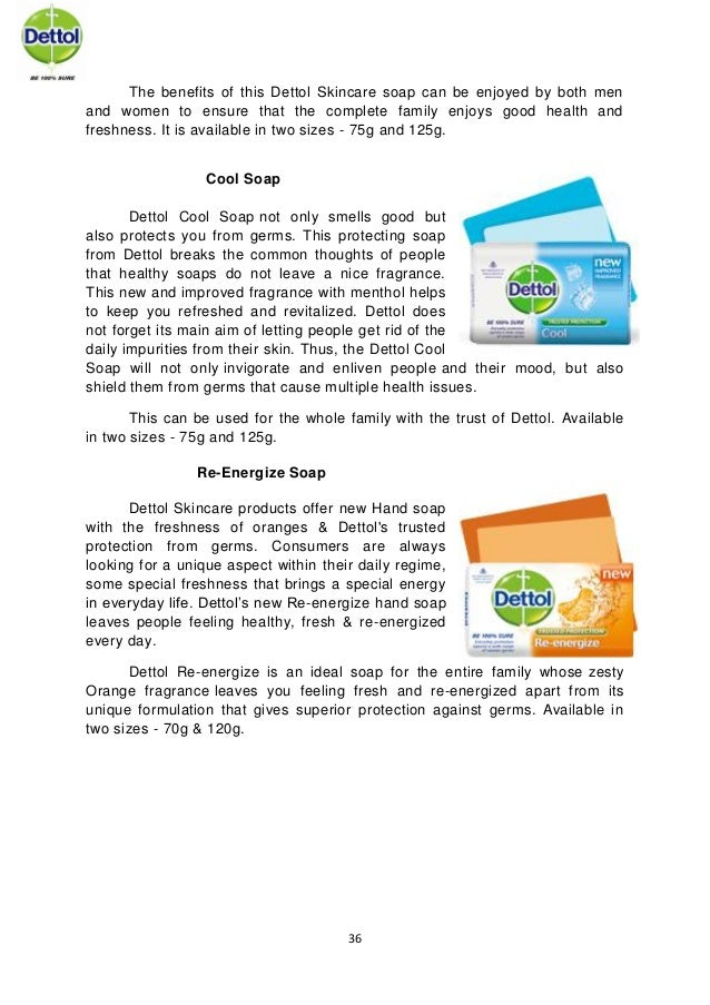 Soap essay