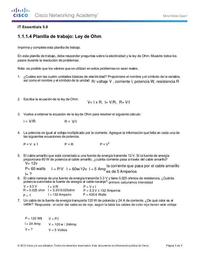 Alfa img - Showing u0026gt; Ohm S Law Worksheet