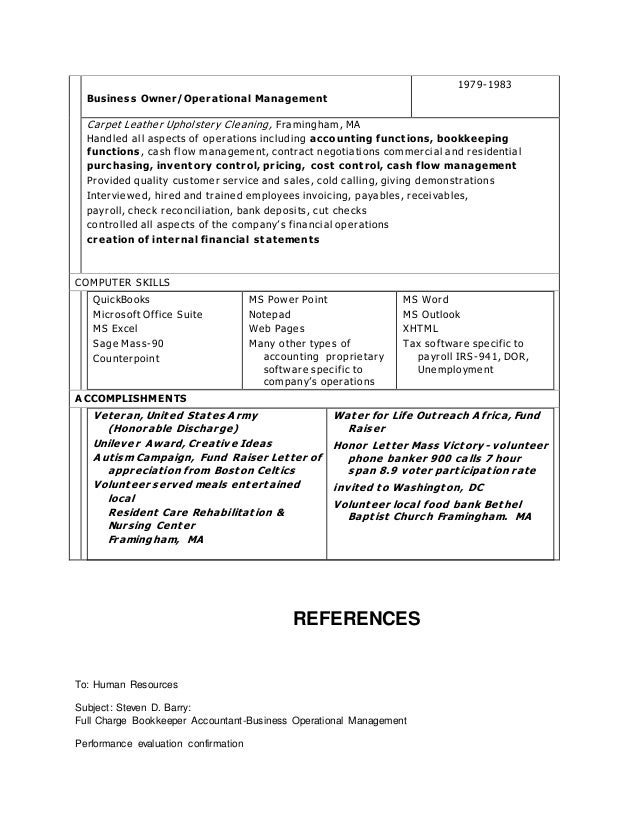 cover letter for financial statements
