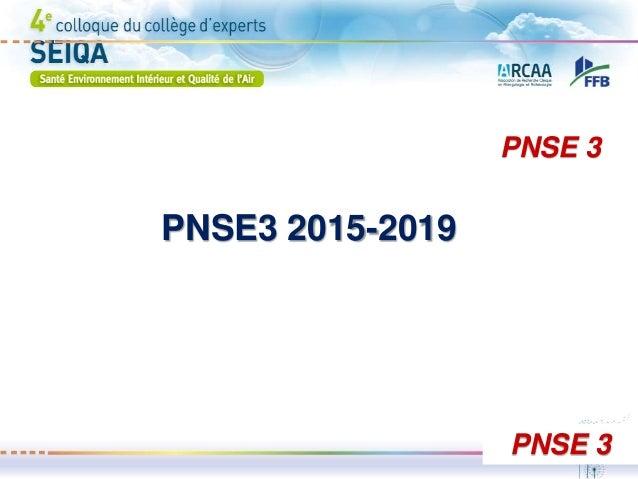 PNSE3 2015-2019 PNSE 3 PNSE 3