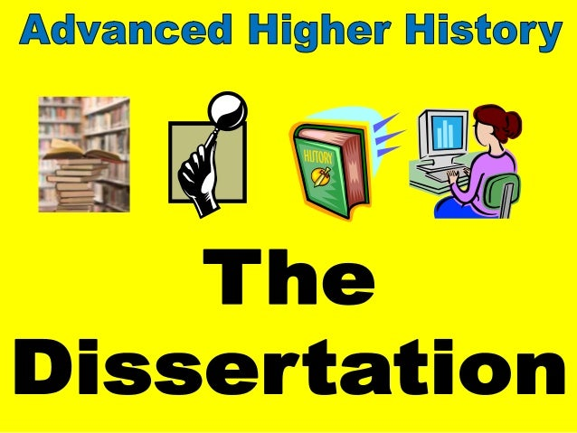 Advanced higher english dissertation titles