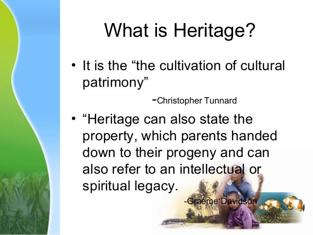 what is heritage