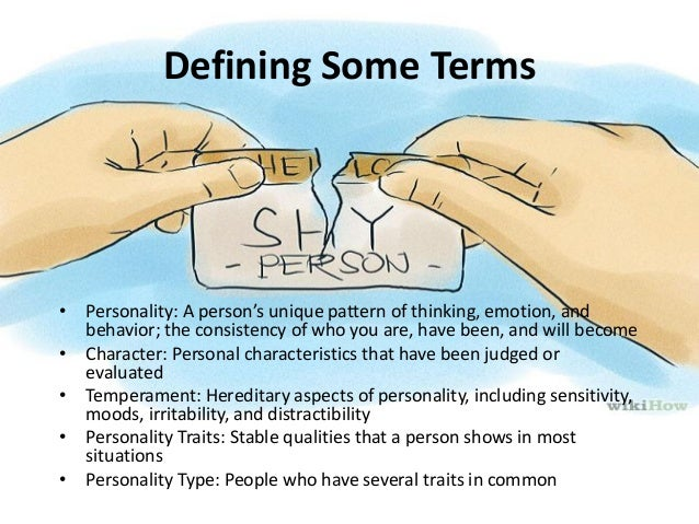 Personal theories of personality