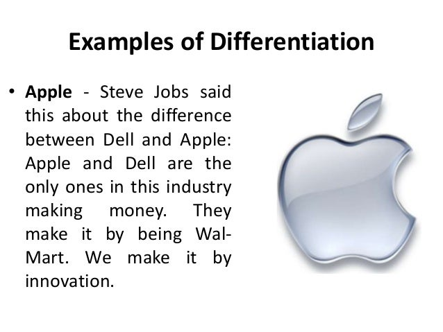 Focus Differentiation Strategy For Dell Coursework Academic Service