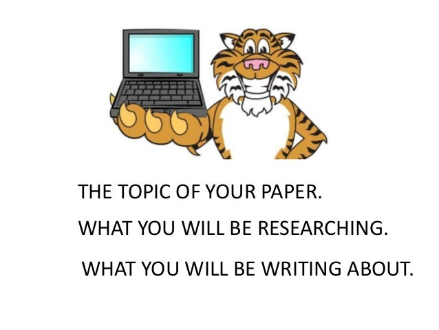 Help finding a research paper topic? Can be about anything?