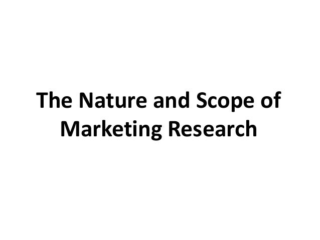 Scope of advertising research