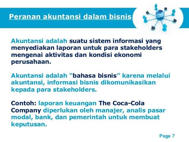 pengantar akuntansi dan perusahaan