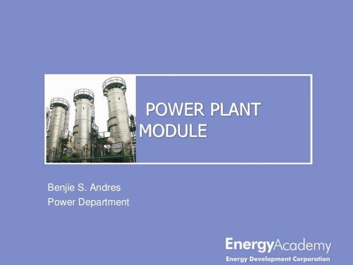 1.1 power plant module1 batch3
