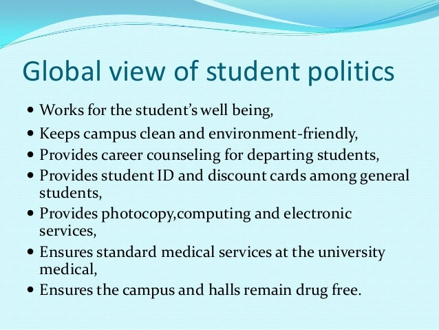student should take part politics essay