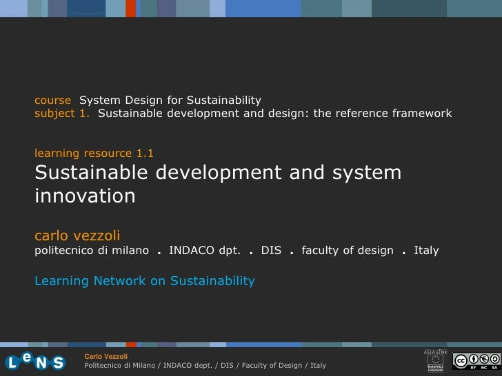 1.1 sustainable development and system innovation vezzoli 09-10 (31)
