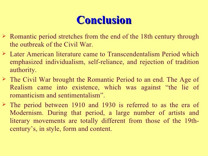 the romantic era art music and literature essay Romantic era essay examples outburst of art during the romantic era 869 2 pages an introduction to the classical music in the middle ages and the romantic.