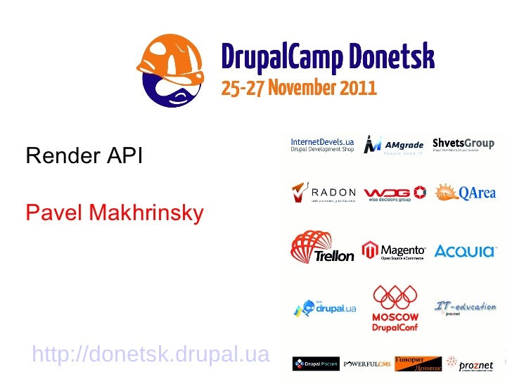 Render API - Pavel Makhrinsky