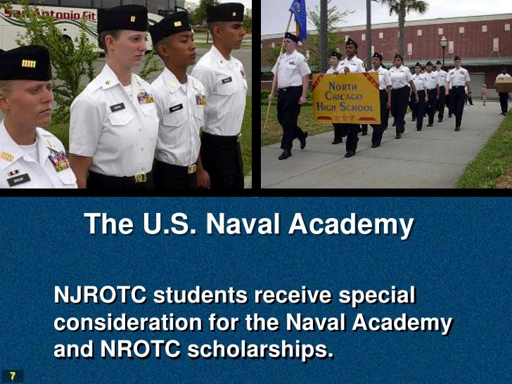 Why does the navy hand out NROTC scholarships?
