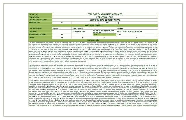 FACULTAD:  ESTUDIOS EN AMBIENTES VIRTUALES  PROGRAMA:  PREGRADO - FEAV COMPETENCIAS COMUNICATIVAS  UNIDAD DE ESTUDIO: ANFI...