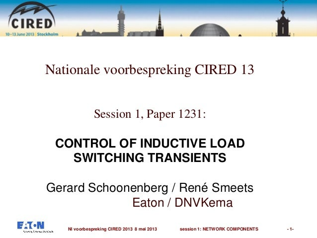 1.2 1231 control of inductive load switching transients
