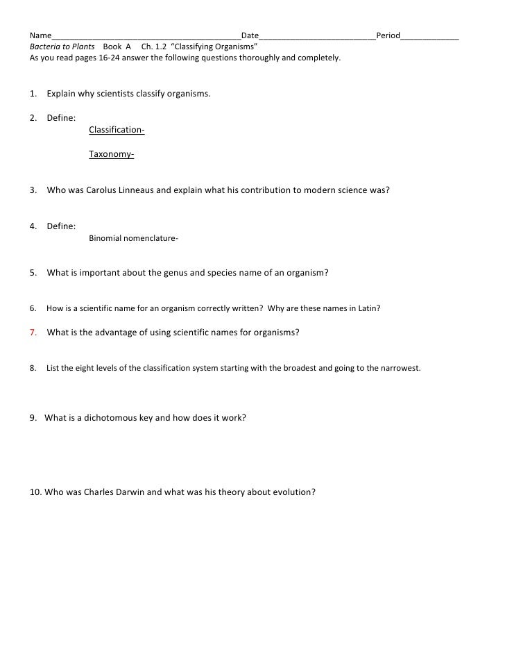 1.2 A Reading Questions