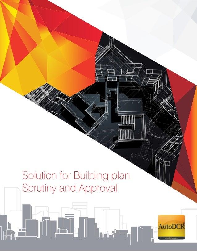 Building Plan Approval- AutoDCR (brochure)