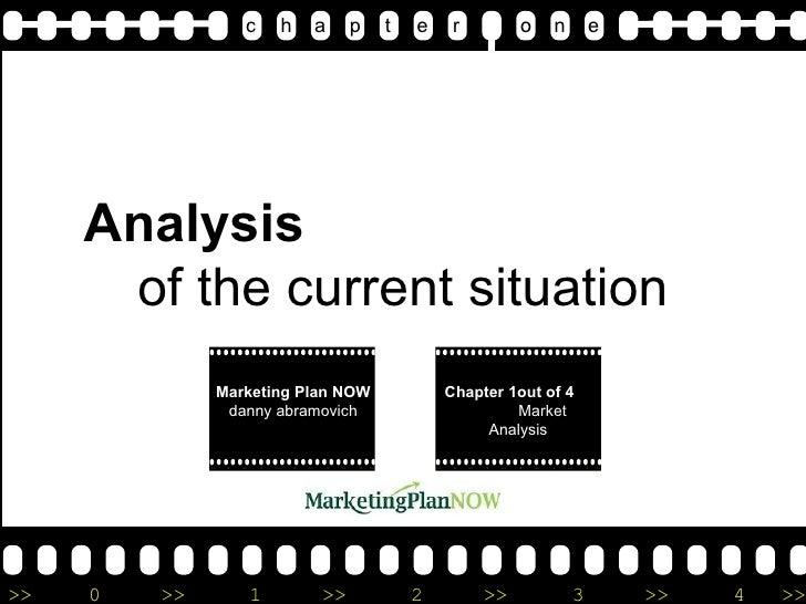 1.2 Marketing Plan - Market Analysis by www.marketingPlanNOW.com