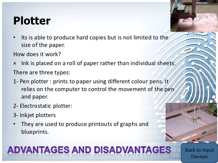 Plotter Printers Advantages Plotters Advantages