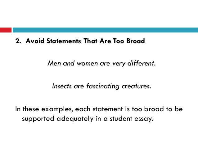 Women in advertising thesis statement. need help?
