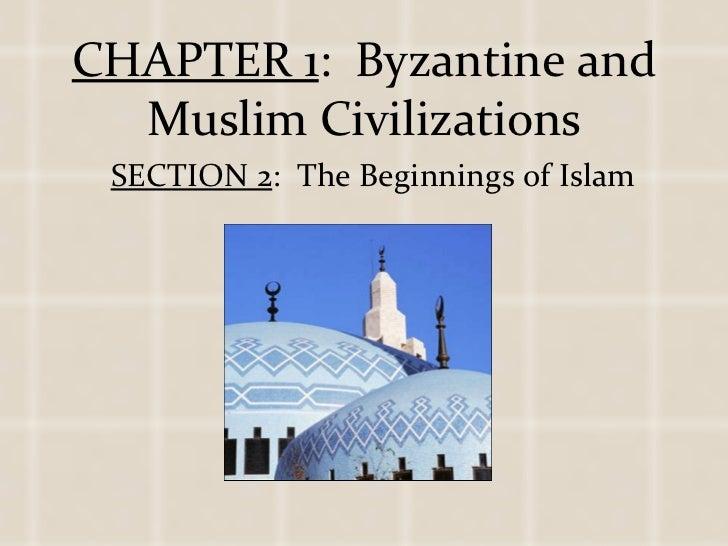 1 2 the beginnings of islam