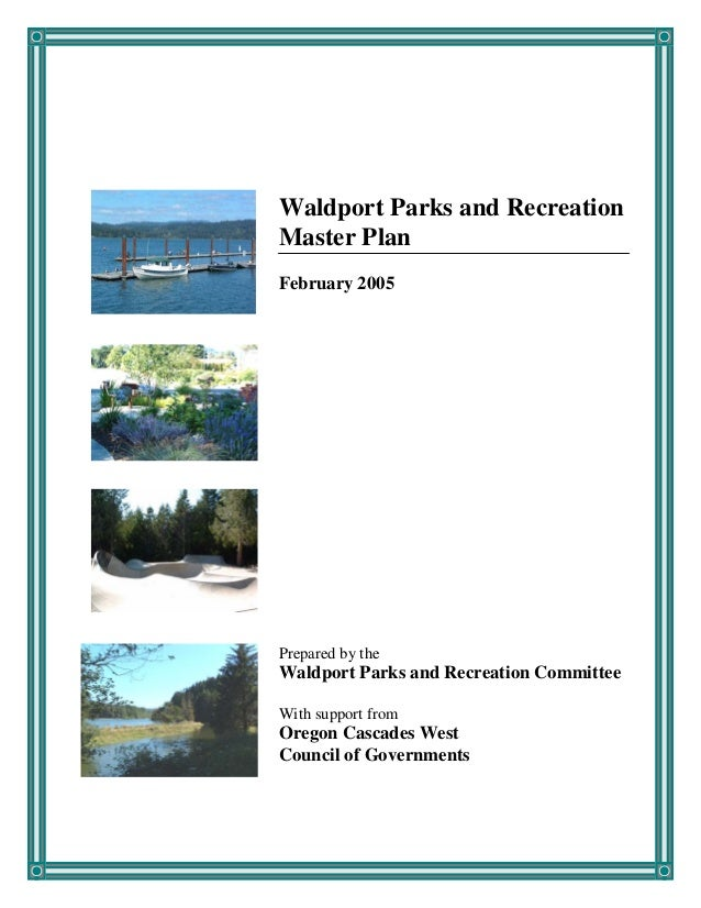 South Lincoln County, Parks & Recreation Master Plan