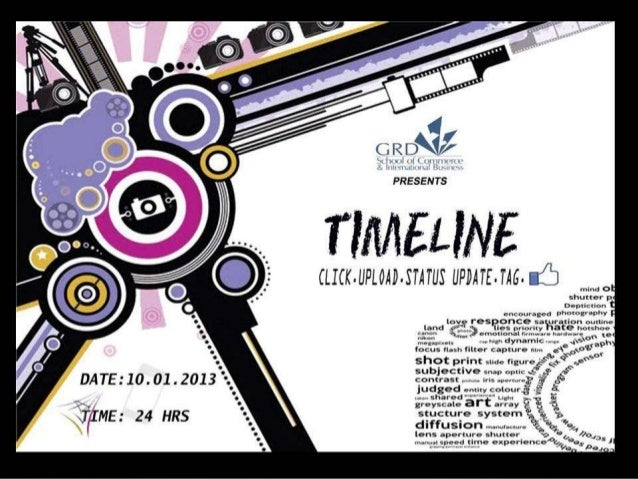 TIMELINE - Photography Contest :