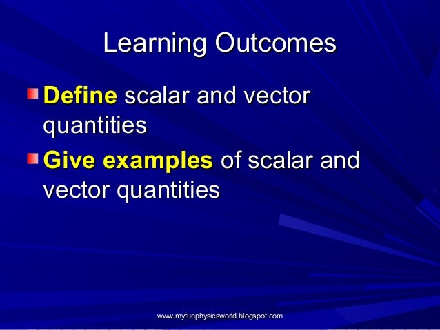 Scalar and Vector Quantities.pdf - SCALARS AND …