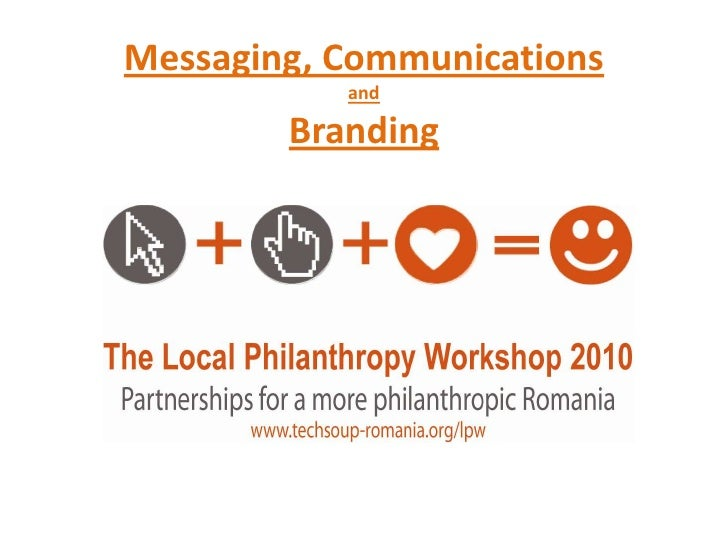1.3 speaking your idea, messaging, communications and branding