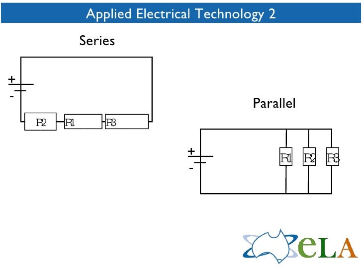 Applied Electrical Technology 2 + - R1  R2 R3  + - R1 R2 R3 Parallel Series