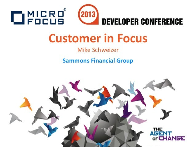 Developer Conference 1.4 - Customer In Focus- Sammons Financial Group (SFO)