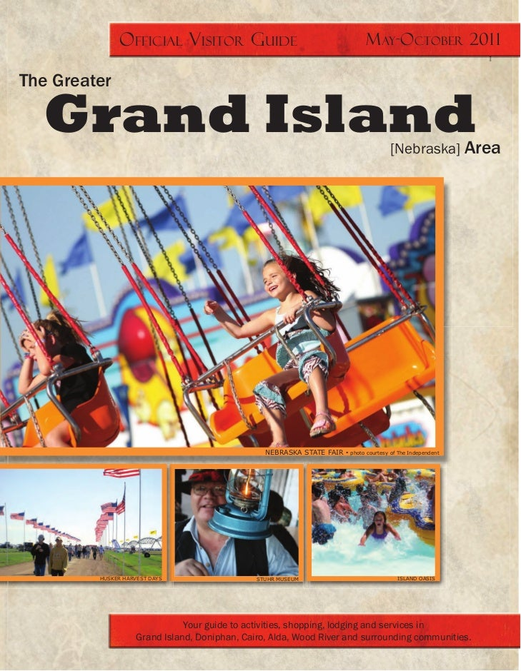 Official Visitors Guide for Grand Island, Nebraska