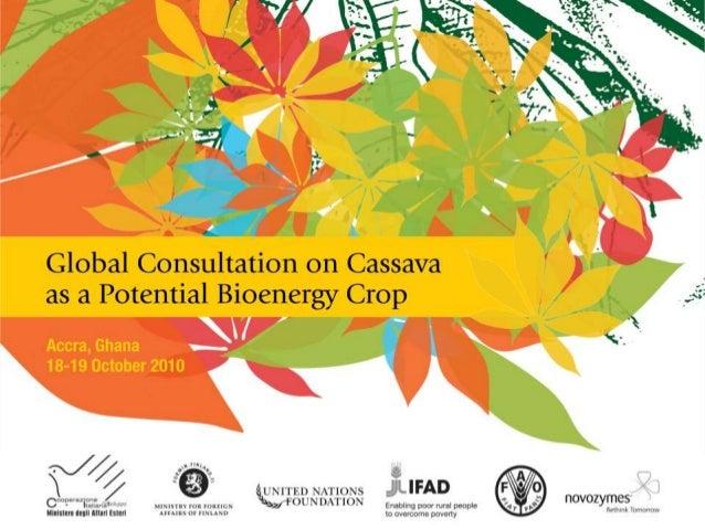 Cassava breeding potential for bioethanol Becerra López-Lavalle, L.A. , Dufour, D., Sánchez, T. and H. Ceballos