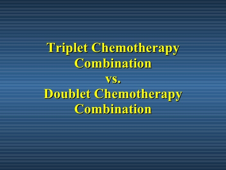 Image result for triplet chemotherapy